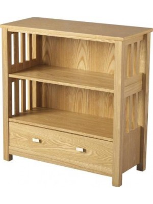 Ashmore 1 Drawer Bookcase (Low)