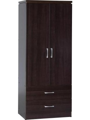 Charles 2 Door 2 Drawer Wardrobe