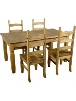 Corona Extending Dining Set (1+4)