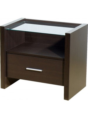 Denver 1 Drawer Bedside Cabinet