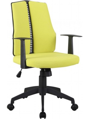Computer Chair in Lime Green Fabric