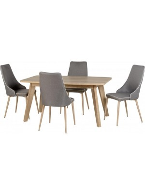 Finley Dining Set + 4 Chairs