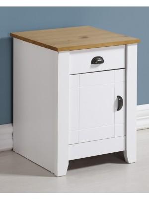 Ludlow 1 Drawer 1 Door Bedside Cabinet