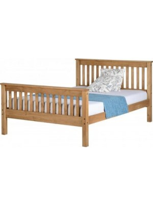 "Monaco 4'6"" Bed High Foot End"