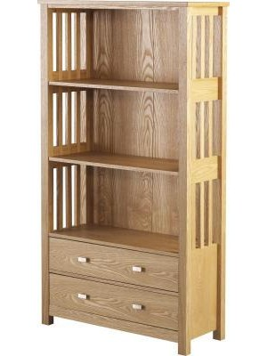 Ashmore 2 Drawer Bookcase (High)