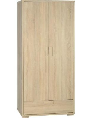 Cambourne 2 Door 1 Drawer Wardrobe