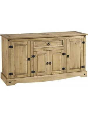 Corona 4 Door 1 Drawer Sideboard