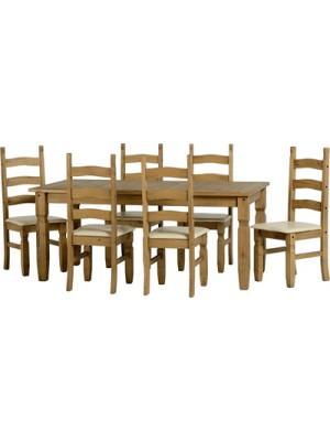 Corona 6' Dining Set