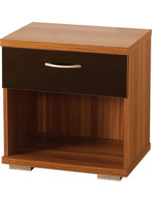 Hollywood 1 Drawer Bedside Cabinet
