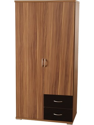 Hollywood 2 Door 2 Drawer Wardrobe
