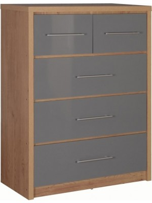 Seville 3+2 Drawer Chest