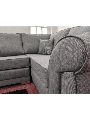 New York Corner Sofa (Dundee Silver)