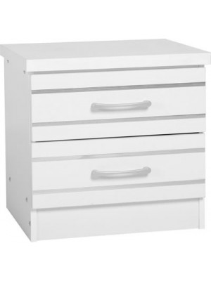 Jordan 2 Drawer Bedside Chest