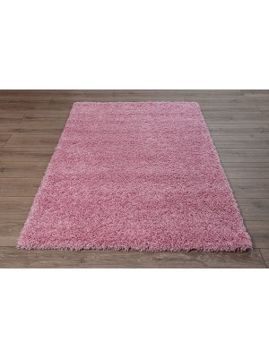 Oxford Shaggy Rug Baby Pink
