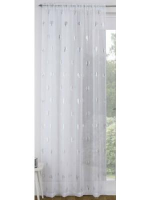 Birch Voile Panel WHITE