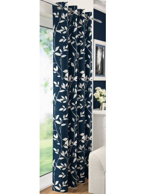 Laural Eyelet Voile Panel BLUE