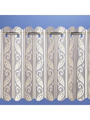 Corsica Louvre Pleated Vertical Panel Blind CREAM
