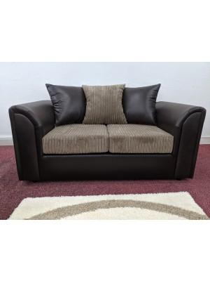 Houston Sofa  (Mink Cord/ Brown)