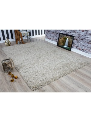 Oxford Shaggy Rug Light Beige