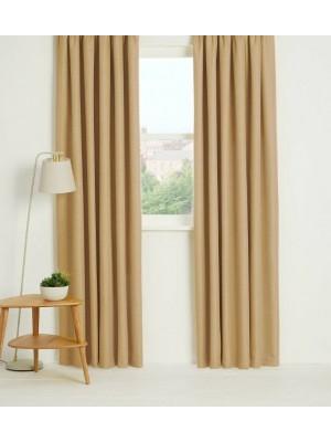 Thermal Plain Blackout Curtains MINK