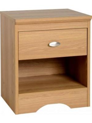 Regent 1 Drawer Bedside Cabinet