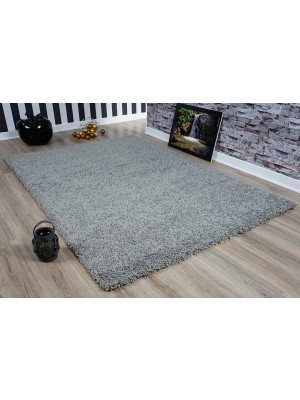 Oxford Shaggy Rug Silver