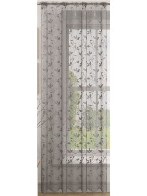 Evie Voile Panel SILVER
