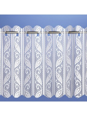 Corsica Louvre Pleated Vertical Panel Blind WHITE