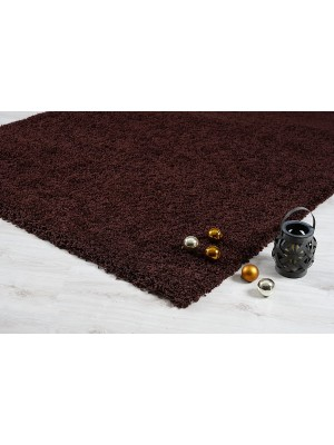 Oxford Shaggy Rug Brown