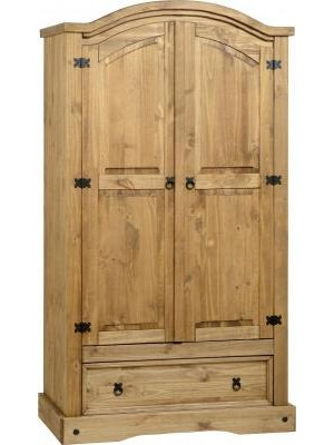 Corona 2 Door 1 Drawer Wardrobe