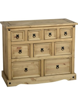 Corona 4+3+2 Drawer Merchant Chest