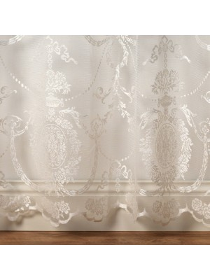 Holly Voile Panel CREAM