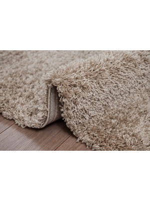 Oxford Shaggy Rug Dark Beige