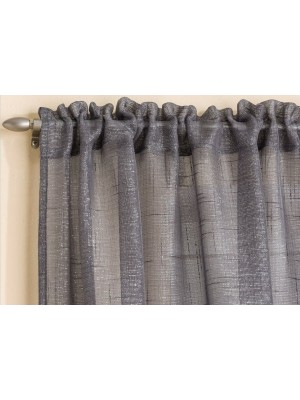Casablanca Voile Panel GREY
