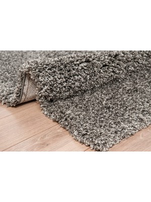 Oxford Shaggy Rug Mixed Grey