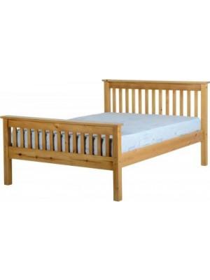 "Monaco 4'6"" Bed High Foot End"