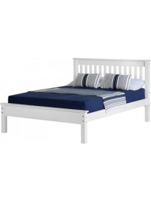 "Monaco 4'6"" Bed Low Foot End"