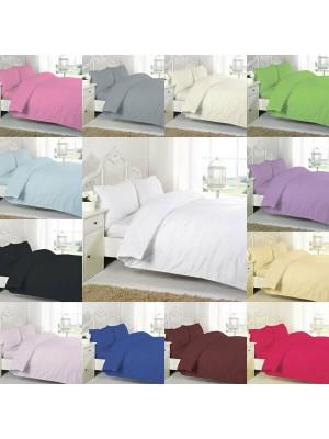 Easy care poly/cotton FLAT Sheet LEMON