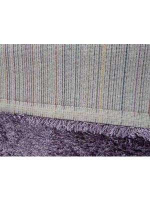 Royal Tri Shaggy Rug Violet