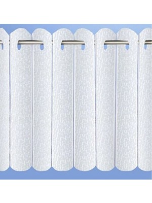 Rhodes Pleated Vertical Panel Blind WHITE