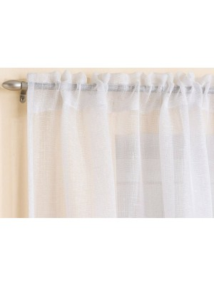 Casablanca Voile Panel WHITE