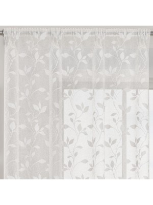 Evie Voile Panel WHITE